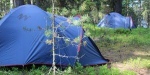 Отдых в палатках на селигере